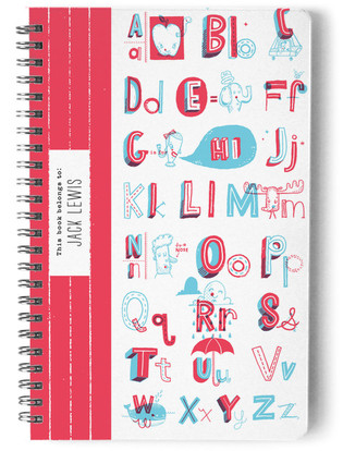 ABC Notebook Day Planner, Notebook, or Address Book