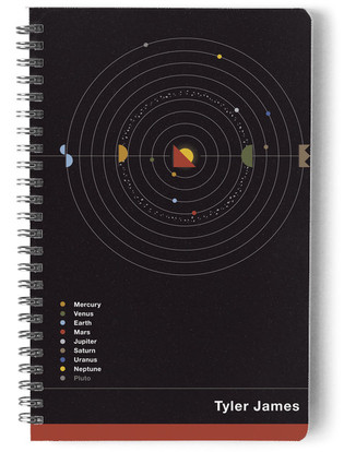 Planets Day Planner, Notebook, or Address Book