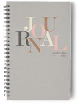 Type Journal Notebooks