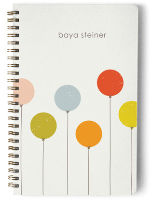 Balloons Day Planner, Notebook, or Address Book