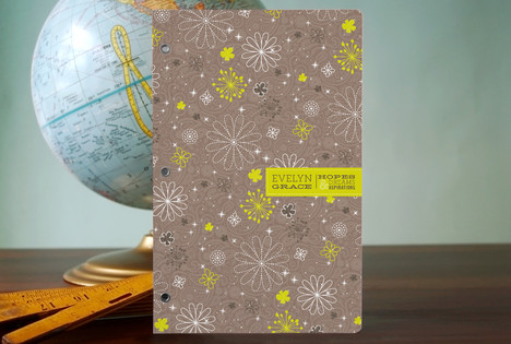 Whimsy Petals Notebooks