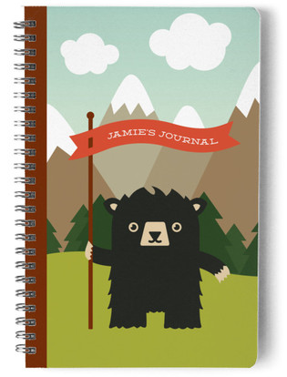 Black Bear Day Planner, Notebook, or Address Book