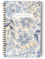 Watercolor Wash Floral No. 2 Notebooks