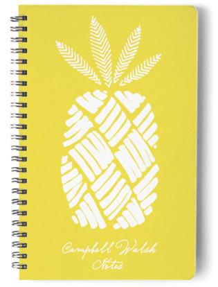 The Pineapple Day Planner, Notebook, or Address Book