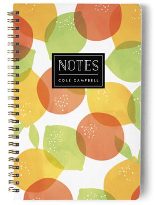 Citrus Splash Day Planner, Notebook, or Address Book