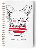 dog in stripes by Little Miss Missy
