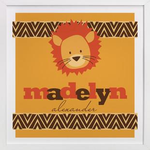 Roar! Nursery Custom Art Print