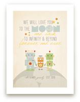 Robot Family by Dawn Jasper