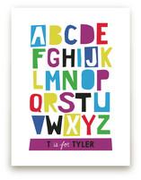 Paper Cut ABCs