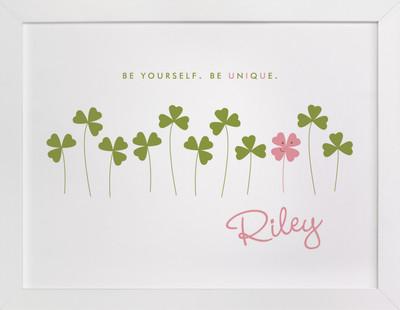 Little Clover Nursery Custom Art Print