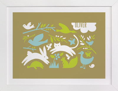 Prairie Tale Nursery Custom Art Print