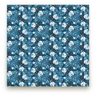 Midnight Bloom Fabric