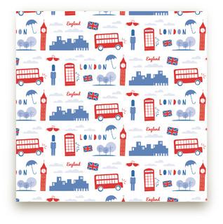 London Calling Fabric