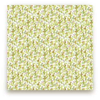 Prickly Pear Cacti Fabric