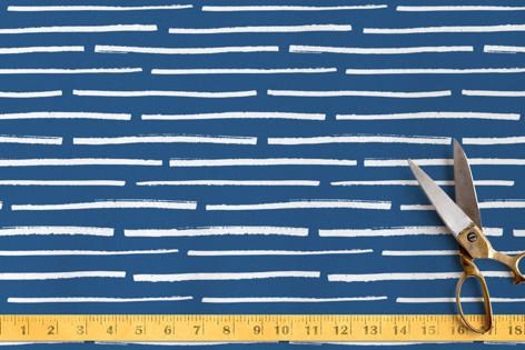 Blue wave Fabric
