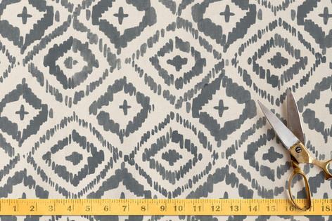 Painterly Ikat Fabric