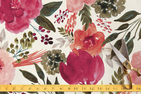 Flourishing Garden Fabric
