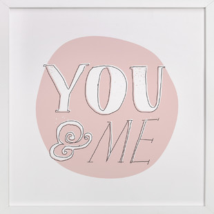 You and Me Nursery Art Print