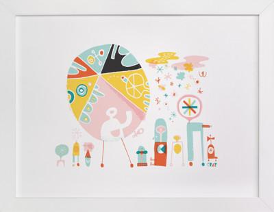 Globetrotters Nursery Art Print