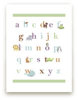 Baby Animal Alphabet by BitsyCreations