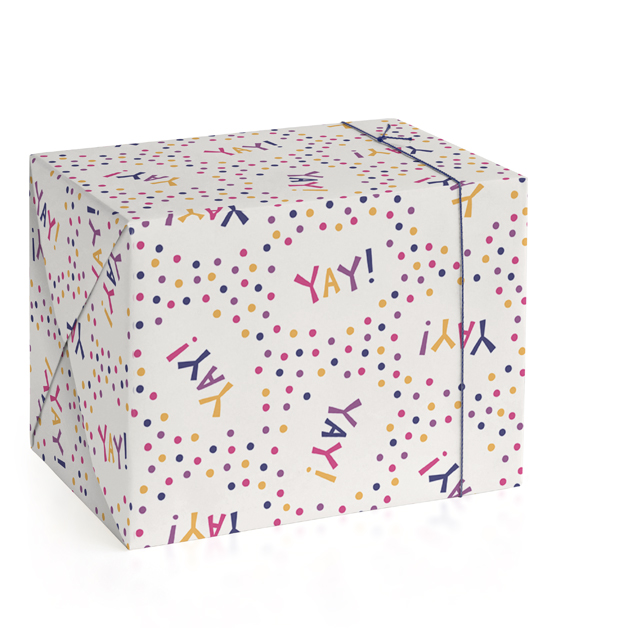Yay! Wrapping Paper