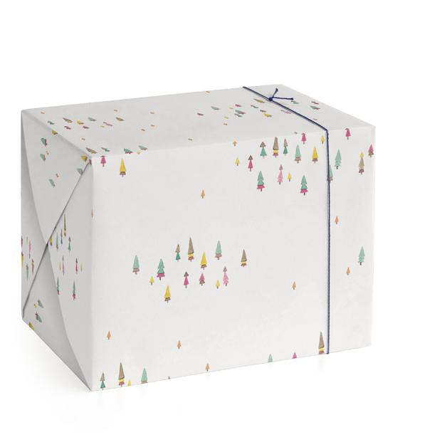 Skyer av Skog Wrapping Paper