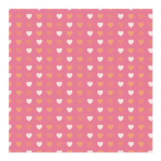 Conversation Heart Valentine Wrapping Paper