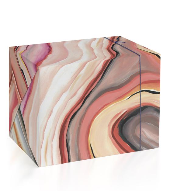 Rainbow Geode by Alexzandra Fajardo