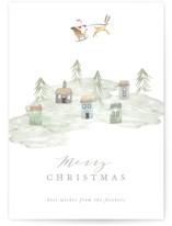 Santa's Sleigh by Hallie Fischer