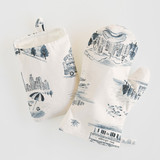 Chicago Modern Toile by Surface Love