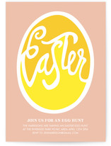 Good Egg Easter Invite by Stacey Hill