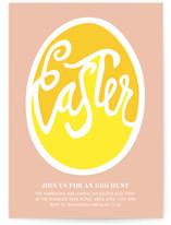 Good Egg Easter Invite