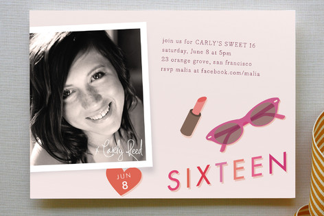 Autograph Party Invitations