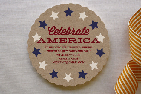 The Patriot Party Invitations