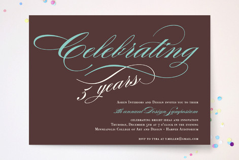 Savvy Celebration Party Invitations