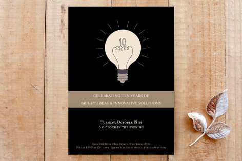 Bright Ideas Party Invitations