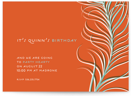 Party Hearty Party Invitations