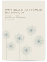 Roman Candles Party Invitations