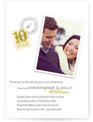Sealed with a Kiss Party Invitations