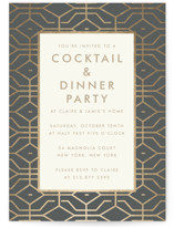 West Coast Party Invitations