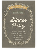 Farm-To-Table Dinner Party