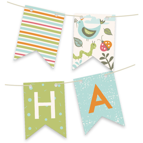 Park Party Personalizable Bunting Banner