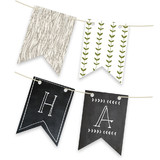 Blackboard Perfection Personalizable Bunting Banners