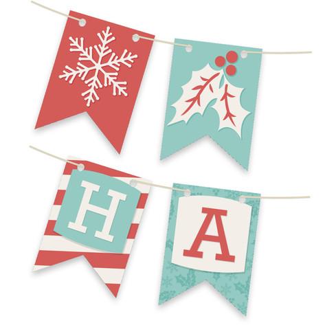A Season for Stripes Personalizable Bunting Banner