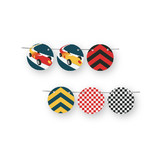 Vintage Race Car Circle Garlands