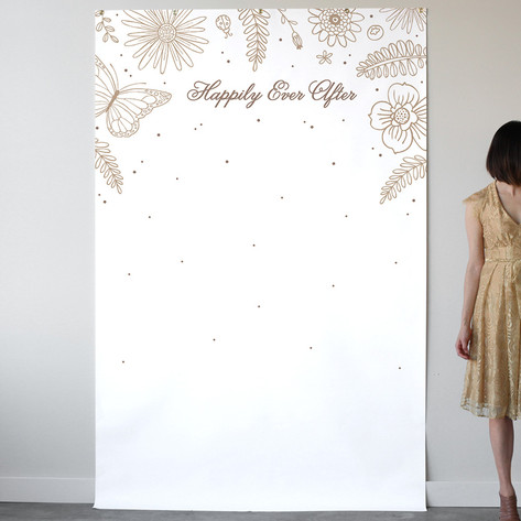 Wildflowers Personalizable Photo Backdrops