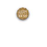 New Year's Closure Stickers