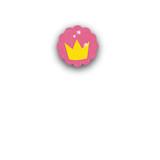 Princess Crown Closure Stickers