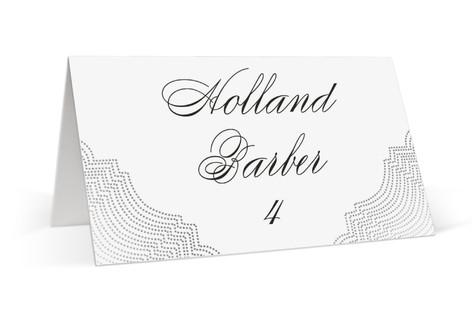 Splendorous Foil-Pressed Place Cards