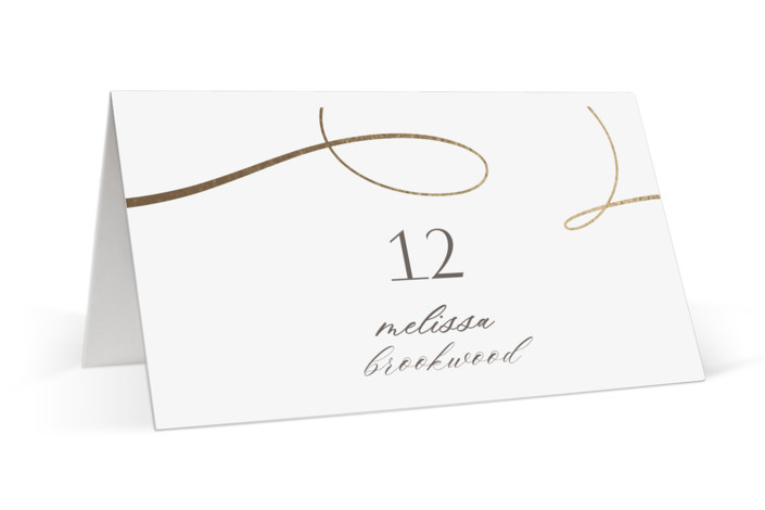 Forever And Foil-Pressed Place Cards